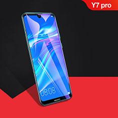 Film Protection Protecteur d'Ecran Verre Trempe Integrale F04 pour Huawei Y7 Pro (2019) Noir