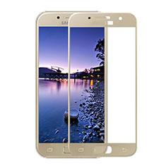 Film Protection Protecteur d'Ecran Verre Trempe Integrale F05 pour Samsung Galaxy A3 (2017) SM-A320F Or