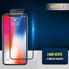 Film Protection Protecteur d'Ecran Verre Trempe Integrale F30 pour Apple iPhone Xs Max Noir