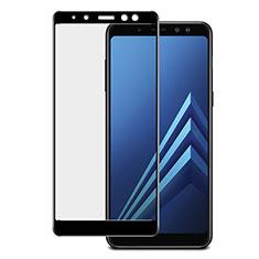 Film Protection Protecteur d'Ecran Verre Trempe Integrale pour Samsung Galaxy A8+ A8 Plus (2018) A730F Noir