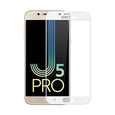 Film Protection Protecteur d'Ecran Verre Trempe Integrale pour Samsung Galaxy J5 (2017) SM-J750F Blanc