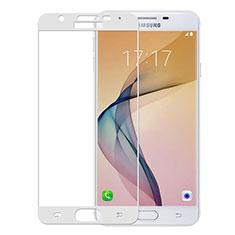 Film Protection Protecteur d'Ecran Verre Trempe Integrale pour Samsung Galaxy J5 Prime G570F Blanc