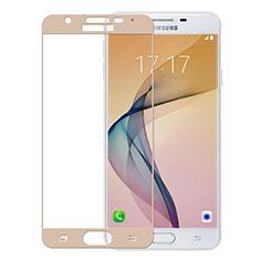 Film Protection Protecteur d'Ecran Verre Trempe Integrale pour Samsung Galaxy J5 Prime G570F Or