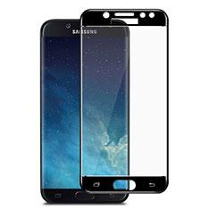 Film Protection Protecteur d'Ecran Verre Trempe Integrale pour Samsung Galaxy J7 Pro Noir