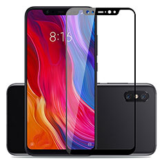 Film Protection Protecteur d'Ecran Verre Trempe Integrale pour Xiaomi Mi 8 Pro Global Version Noir