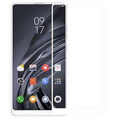 Film Protection Protecteur d'Ecran Verre Trempe Integrale pour Xiaomi Mi Mix 2S Blanc