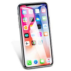 Film Protection Protecteur d'Ecran Verre Trempe Integrale V02 pour Apple iPhone Xs Max Blanc