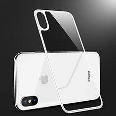 Film Protection Verre Trempe Arriere Protecteur d'Ecran B09 pour Apple iPhone Xs Max Blanc