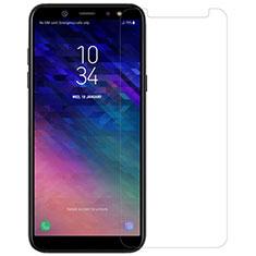 Film Protection Verre Trempe Protecteur d'Ecran pour Samsung Galaxy A6 (2018) Dual SIM Clair