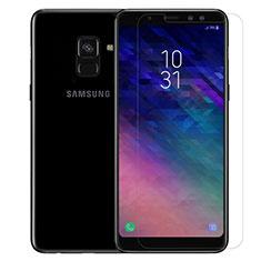 Film Protection Verre Trempe Protecteur d'Ecran pour Samsung Galaxy A8 (2018) A530F Clair