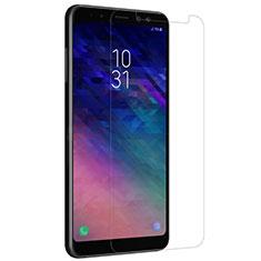 Film Protection Verre Trempe Protecteur d'Ecran pour Samsung Galaxy A8+ A8 Plus (2018) Duos A730F Clair