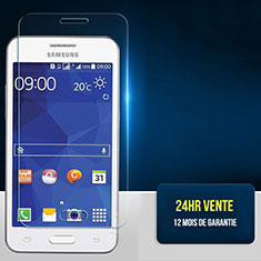 Film Protection Verre Trempe Protecteur d'Ecran pour Samsung Galaxy Core 2 G355H Core II Dual Clair