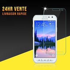 Film Protection Verre Trempe Protecteur d'Ecran pour Samsung Galaxy S6 Active G890 Clair