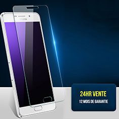 Film Protection Verre Trempe Protecteur d'Ecran T02 pour Samsung Galaxy A7 (2016) A7100 Clair