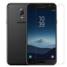 Film Protection Verre Trempe Protecteur d'Ecran T02 pour Samsung Galaxy J7 Plus Clair