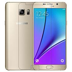 Film Protection Verre Trempe Protecteur d'Ecran T02 pour Samsung Galaxy Note 5 N9200 N920 N920F Clair
