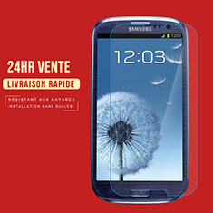 Film Protection Verre Trempe Protecteur d'Ecran T02 pour Samsung Galaxy S3 4G i9305 Clair