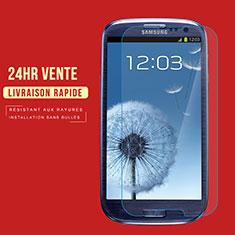 Film Protection Verre Trempe Protecteur d'Ecran T02 pour Samsung Galaxy S3 III LTE 4G Clair