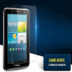 Film Protection Verre Trempe Protecteur d'Ecran T02 pour Samsung Galaxy Tab 2 7.0 P3100 P3110 Clair