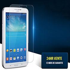 Film Protection Verre Trempe Protecteur d'Ecran T02 pour Samsung Galaxy Tab 3 7.0 P3200 T210 T215 T211 Clair