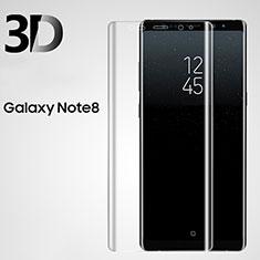 Film Verre Trempe Protecteur d'Ecran 3D pour Samsung Galaxy Note 8 Duos N950F Clair