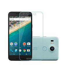 Film Verre Trempe Protecteur d'Ecran pour Google Nexus 5X Clair