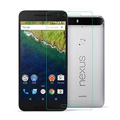Film Verre Trempe Protecteur d'Ecran pour Google Nexus 6P Clair