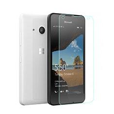 Film Verre Trempe Protecteur d'Ecran pour Microsoft Lumia 550 Clair