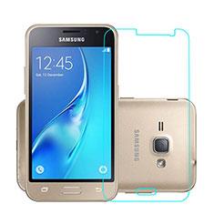 Film Verre Trempe Protecteur d'Ecran pour Samsung Galaxy J1 (2016) J120F Clair