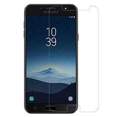 Film Verre Trempe Protecteur d'Ecran pour Samsung Galaxy J7 Plus Clair