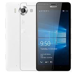 Film Verre Trempe Protecteur d'Ecran T01 pour Microsoft Lumia 950 Clair