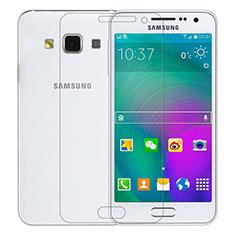 Film Verre Trempe Protecteur d'Ecran T01 pour Samsung Galaxy A3 Duos SM-A300F Clair