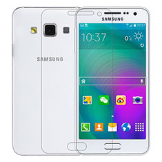 Film Verre Trempe Protecteur d'Ecran T01 pour Samsung Galaxy A3 SM-300F Clair