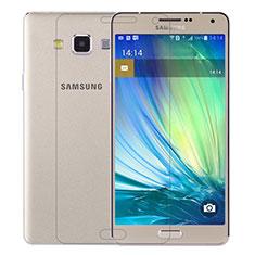 Film Verre Trempe Protecteur d'Ecran T01 pour Samsung Galaxy A7 SM-A700 Clair