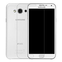 Film Verre Trempe Protecteur d'Ecran T01 pour Samsung Galaxy E7 SM-E700 E7000 Clair