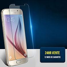 Film Verre Trempe Protecteur d'Ecran T01 pour Samsung Galaxy S6 Duos SM-G920F G9200 Clair