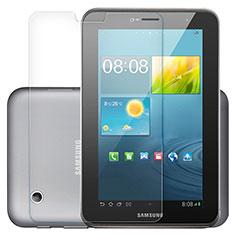 Film Verre Trempe Protecteur d'Ecran T01 pour Samsung Galaxy Tab 2 7.0 P3100 P3110 Clair