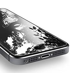 Film Verre Trempe Protecteur d'Ecran T02 pour Apple iPhone 5S Clair