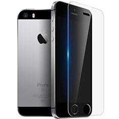 Film Verre Trempe Protecteur d'Ecran T03 pour Apple iPhone 5S Clair