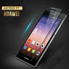 Film Verre Trempe Protecteur d'Ecran T03 pour Huawei Ascend P7 Clair