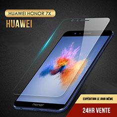 Film Verre Trempe Protecteur d'Ecran T08 pour Huawei Honor 7X Clair