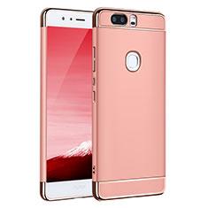 Housse Contour Luxe Metal et Plastique pour Huawei Honor V8 Or Rose