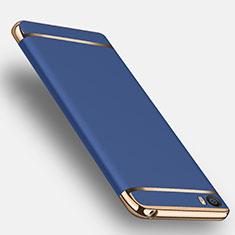 Housse Contour Luxe Metal et Plastique pour Xiaomi Mi 5 Bleu