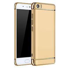 Housse Contour Luxe Metal et Plastique pour Xiaomi Mi 5 Or