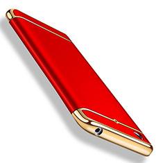 Housse Contour Luxe Metal et Plastique pour Xiaomi Mi 5S Rouge