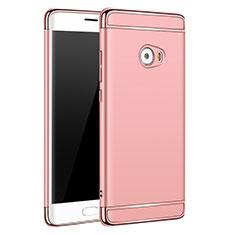 Housse Contour Luxe Metal et Plastique pour Xiaomi Mi Note 2 Special Edition Or Rose