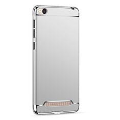 Housse Contour Luxe Metal et Plastique pour Xiaomi Redmi 4A Argent