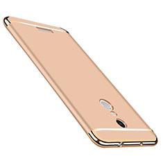 Housse Contour Luxe Metal et Plastique pour Xiaomi Redmi Note 3 MediaTek Or