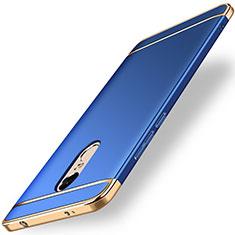 Housse Contour Luxe Metal et Plastique pour Xiaomi Redmi Note 4 Standard Edition Bleu