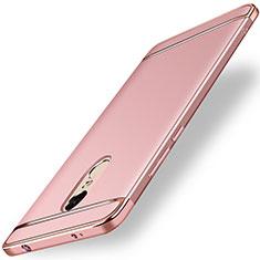 Housse Contour Luxe Metal et Plastique pour Xiaomi Redmi Note 4 Standard Edition Or Rose